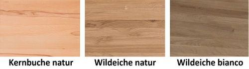 Sideboard 4türig Massivholz Kommode Holztüren 201x98x45cm geölt – Bild 10