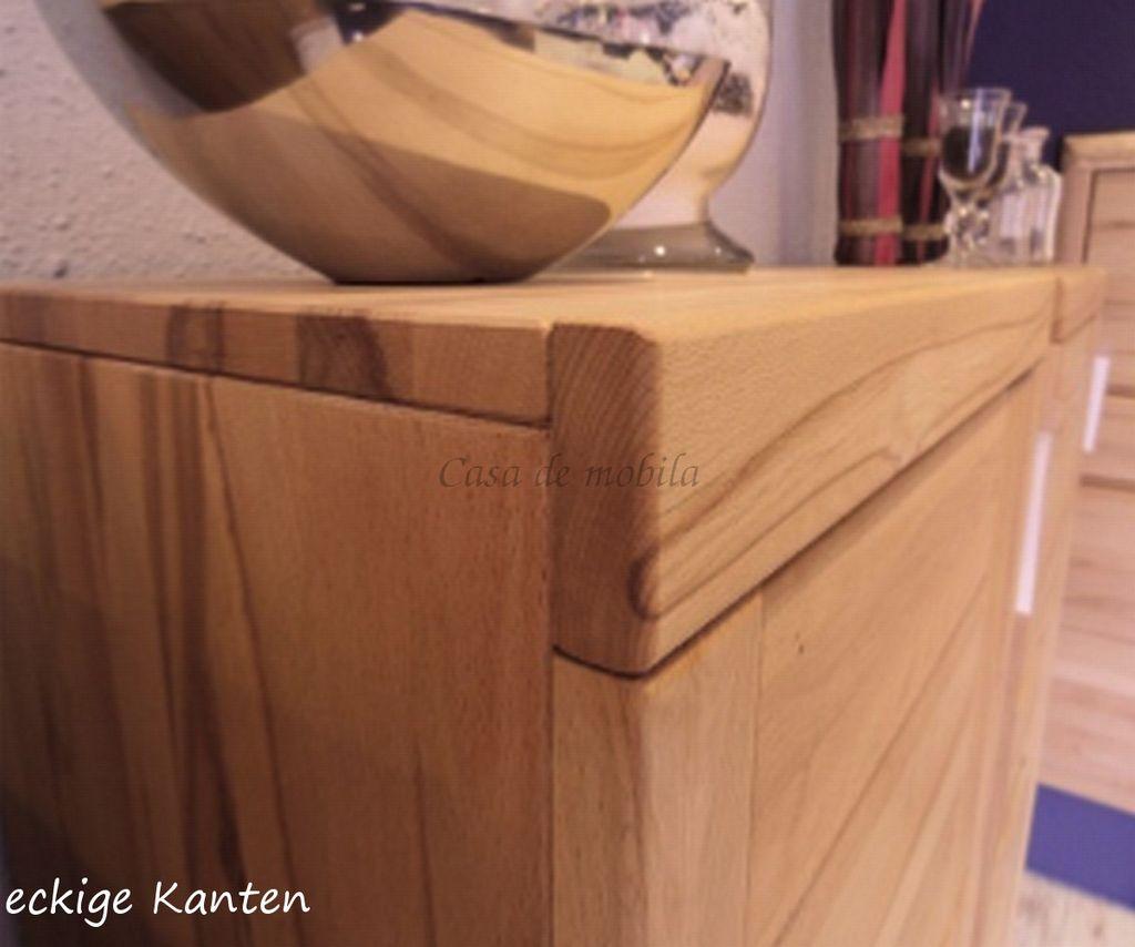 Wandboard Massivholz 128x23x23cm – Bild 5