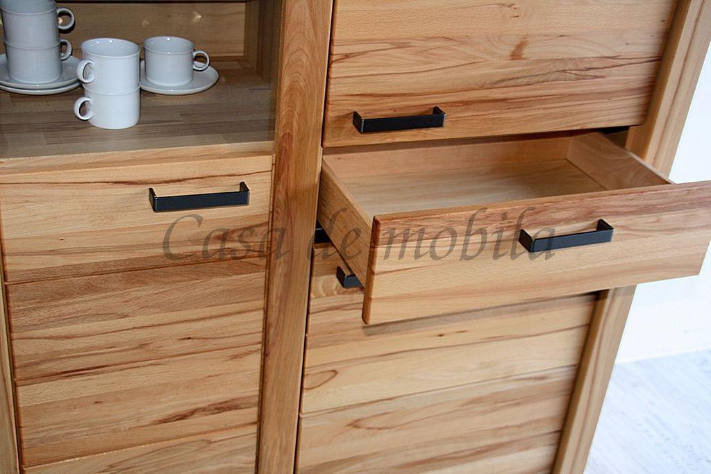 Vollholz Sideboard Kommode 173x137x45cm – Bild 7