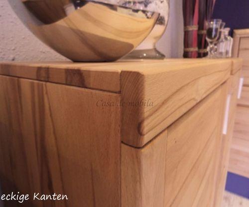 Anbauwand Massivholz 270x203x40cm Kernbuche – Bild 8