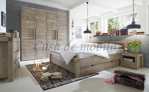 Wäschekommode BJÖRN 120x90x48cm Nordisches Massivholz rustikal gewachst Schubladenkommode – Bild 11
