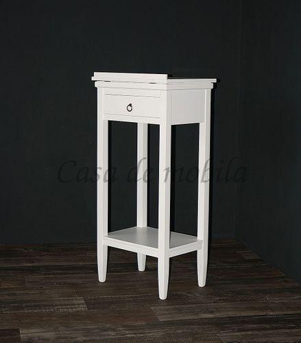 Rednerpult weiß Stehpult Lesepult Massivholz 127 cm – Bild 7