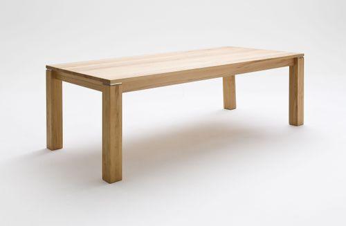 Massivholz Esstisch in Rotkernbuche geölt GEOMA (mit fester Platte oder Funktion) – Bild 1
