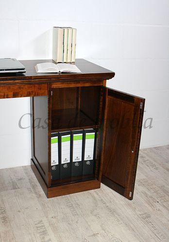 Schreibtisch TOSCANA 135x78x48cm Pappel massiv lackiert – Bild 10