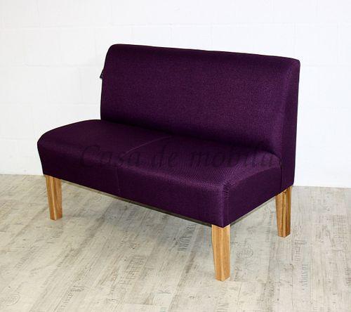 Barnickel Tischsofa CADIZ mit violettem Stoffbezug – Bild 2
