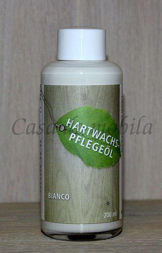 Möbel-Pflegeöl 200ml Hartwachs-Möbelöl Eiche BIANCO – Bild 1