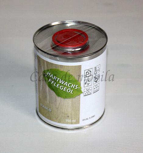 Möbel-Pflegeöl 750ml Hartwachs-Möbelöl Eiche BIANCO – Bild 1