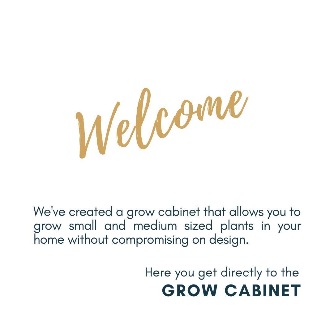 Grow Cabinet
