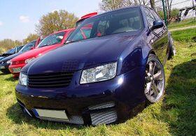 VW Bora V6 Calandre Avant Sport Grille Noir Sans Sigle + Cache Supérieur 98-05