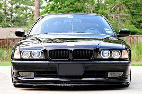 Für BMW 7er E38 Grill Matt Schwarz 94-01