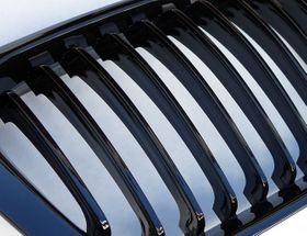 Für BMW 3er E46 4-Türer Grill Glanz Schwarz 98-01 – Bild 2