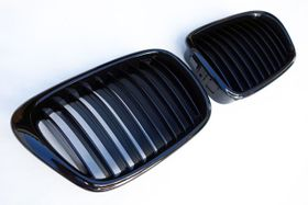 For BMW 5-Series E39 Grill Gloss Black