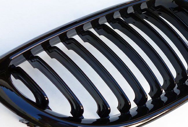 Kidney Kuehlergrill Sport Front Grill in Shiny Black 1134036