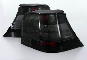 VW Golf 4 GTI R32 25e Anniversaire Hella Feux Arrières Noir Translucide 97-05