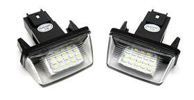 Für Peugeot LED Kennzeichenbeleuchtung – Bild 1