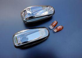 Für Mercedes Benz Seitenblinker W210/R170/C208/Vito/Sprinter Schwarz