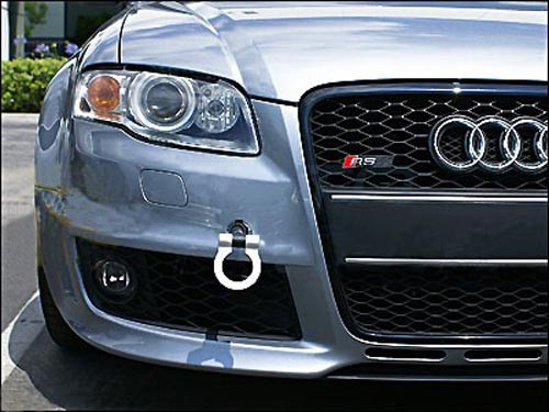 Compatible With Audi Tow Hook Silver Goingfast Com