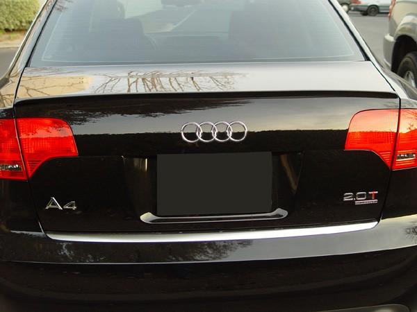 Audi A4 S4 8E B6 Becquet Aileron Spoiler Lame De Coffre Sport S-Line Berline