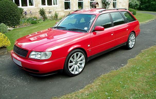 Audi A6 / S6 C4 Front Bumper Cup Chin Spoiler Lip Sport Valanc ...