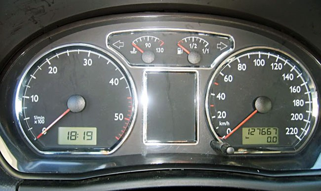 vw polo 9n anneaux cerclage compteur tableau de bord chrome sport 2001 2005 ebay. Black Bedroom Furniture Sets. Home Design Ideas