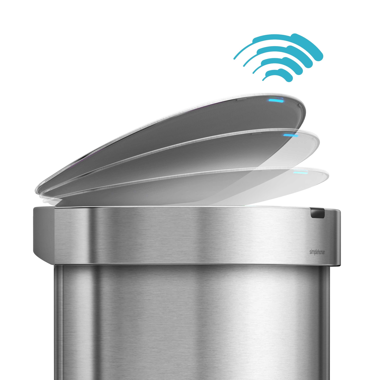 Sensor beim Mülleimer