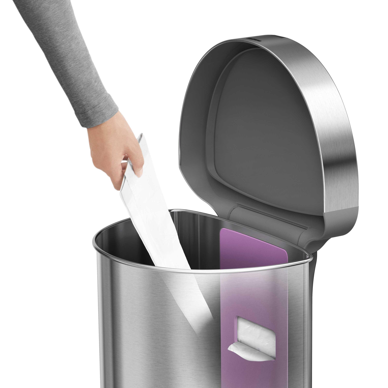 Sensor-Abfalleimer mit Müllbeutel