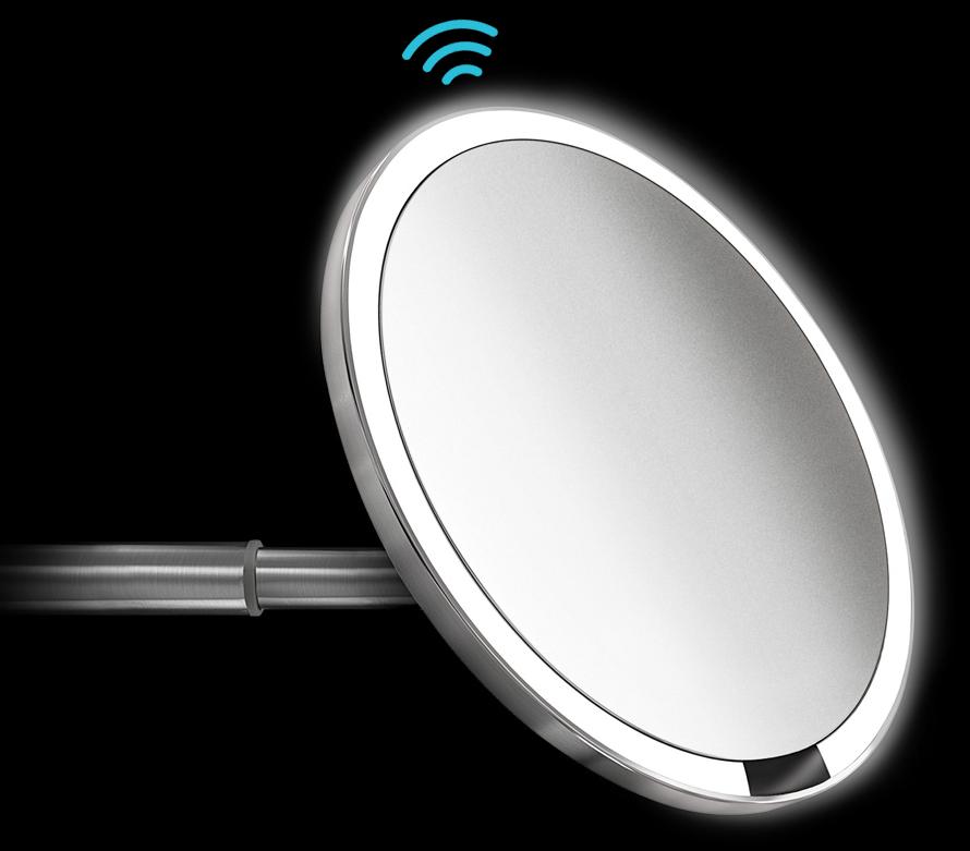 Multi-sense Technologie simplehuman Spiegel