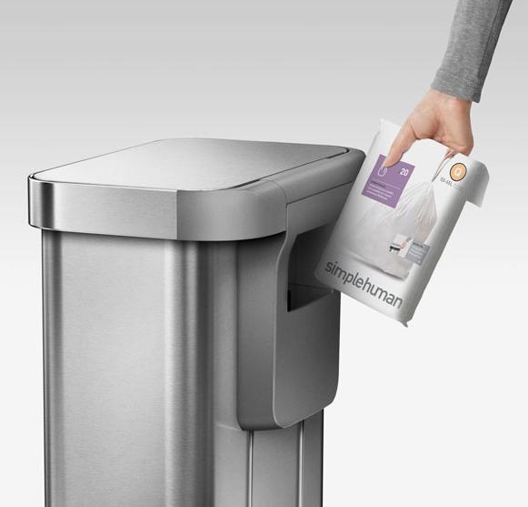 Müllbeutel bei Sensorabfalleimer