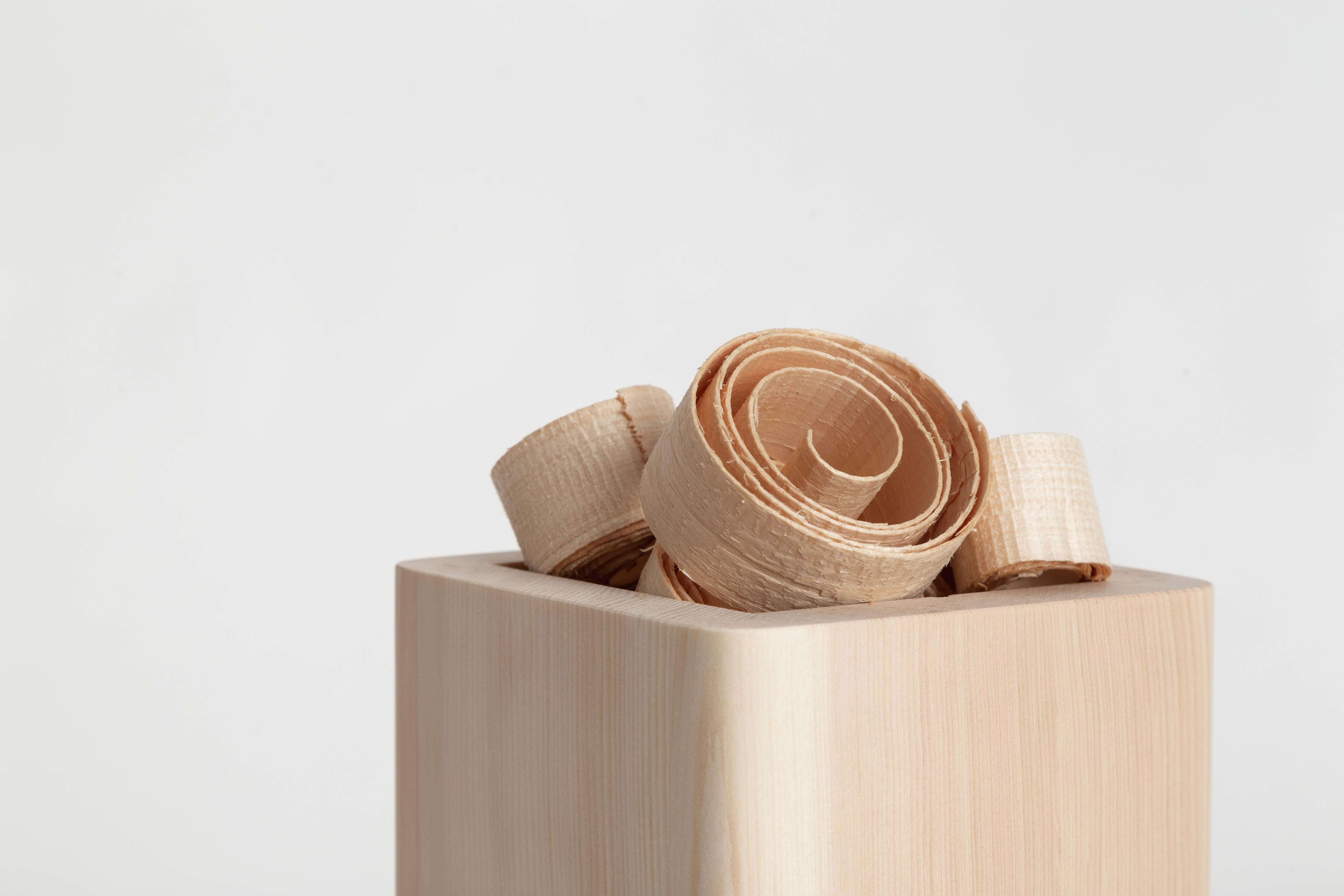 Zirb. Locken für die Raumlüfter Zirbenholzlocken für Zirbenduft
