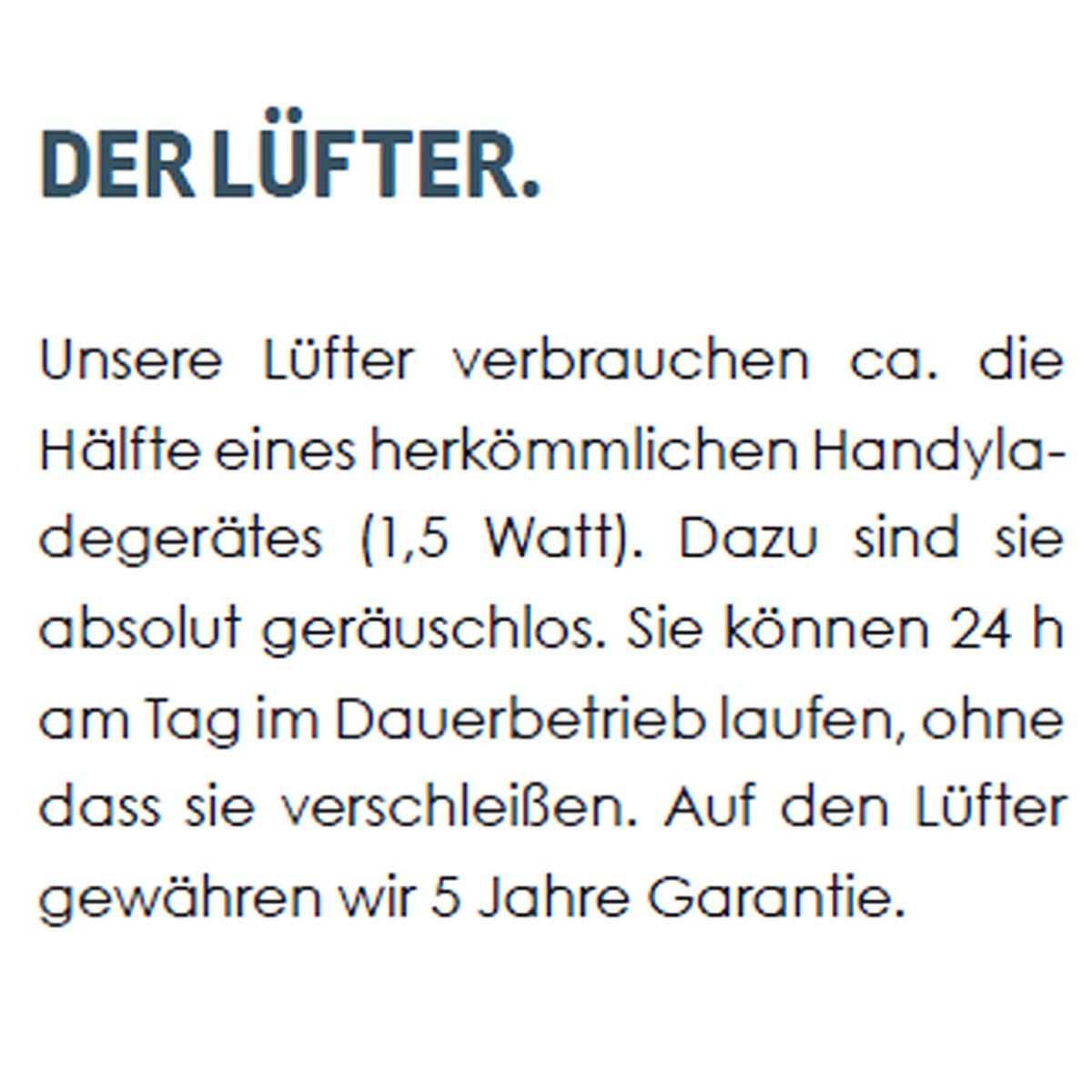 Zirb Lüfter Text