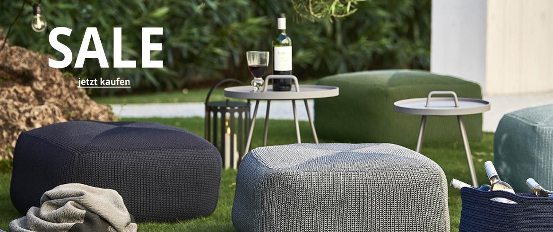 Sale von Outdoor-Möbel und Accessoires