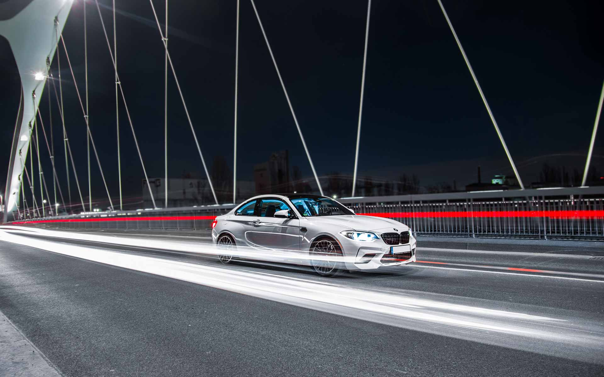 Skylers BMW F87 M2 Competition vor dem Motorschaden
