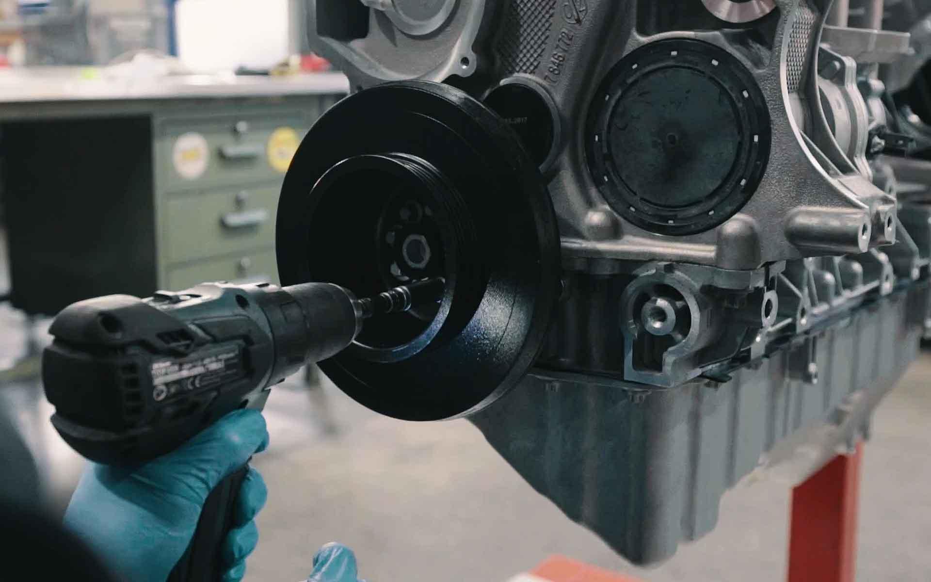 Unsere Zentralschrauben-Verriegelung für N55 & S55 Motoren von BMW