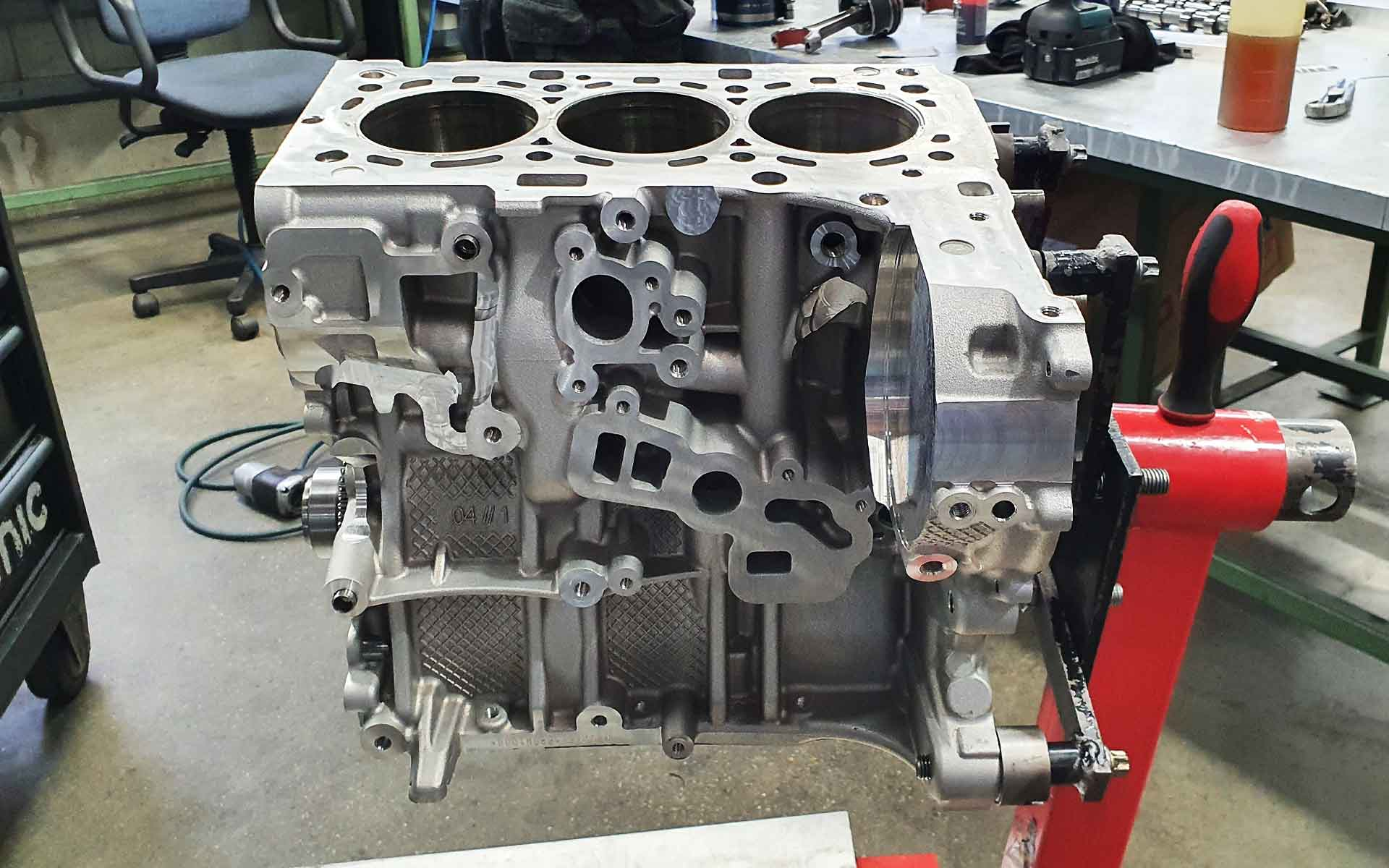 Motorblock des B38K15T0 Motors von BMW