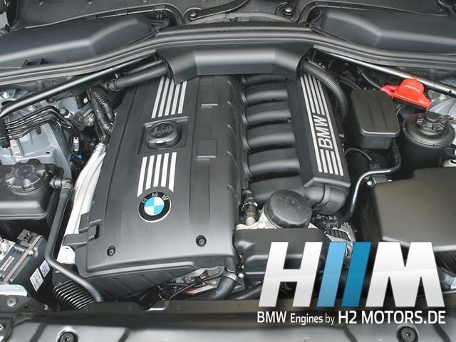 BMW E60LCI E61LCI E63LCI E64LCI E90 E90LCI E91 E91LCI E92 E92LCI E93 E93LCI F10 F11 523i 525i 528i 530i 630i 325i 330i 140kW 150kW 160kW 200kW 190PS 204PS 218PS 258PS 272PS N53B25A N53B30A Motor Engine Triebwerk Überholung mit Einbau