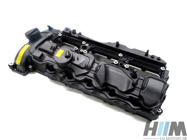 BMW Zylinderkopfhaube Ventildeckel 7570292 N55 N55B30A E70LCI E71 E82 E88 E90LCI E91LCI E92LCI E93LCI F01LCI F02LCI F06 F07 F10 F11 F12 F13 F15 F16 F20 F21 F22 F23 F25 F26 F30 F31 F32 F33 F34 F36 F87