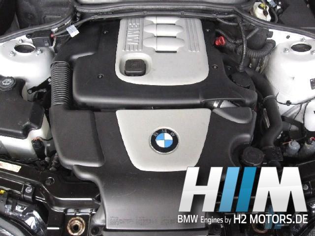 BMW E46 318d 318td 320d 320Cd 320td 116PS 150PS M47N 204D4 Diesel Motor Engine Triebwerk Überholung mit Einbau