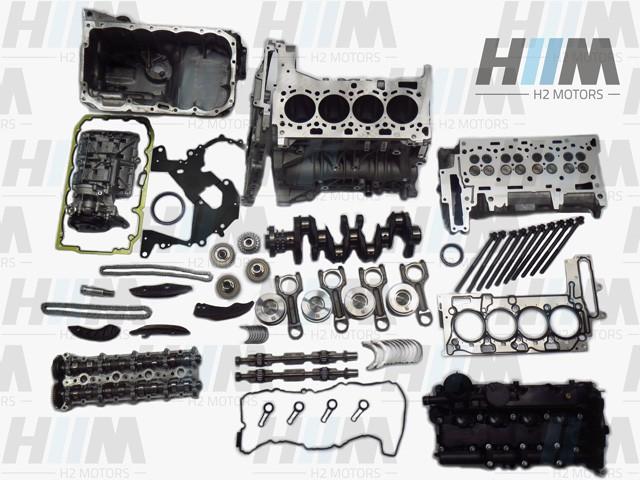 BMW F20 F21 F25 F30 F31 F07 F10 F11 114d 116d 118d 18d 120d 120dX 20dX 125d 316d 318d 320d 320dX 325d 520d 525d 525dX N47N N47S1 N47D16A N47D20C/D 95PS 116PS 143PS 163PS 184PS 218PS Diesel Motor Engine Triebwerk Überholung