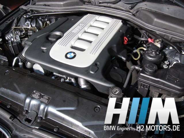 BMW E60 E61 535d M57N 306D4 272PS Diesel Motor Engine Triebwerk Überholung mit Einbau