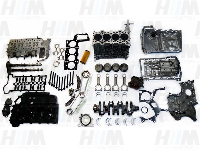 BMW E87 118d 120d E90 E91 318d 320d E60 E60LCI E61 E61LCI 520d M47N2 204D4 122PS 163PS Diesel Motor Engine Triebwerk Überholung mit Einbau
