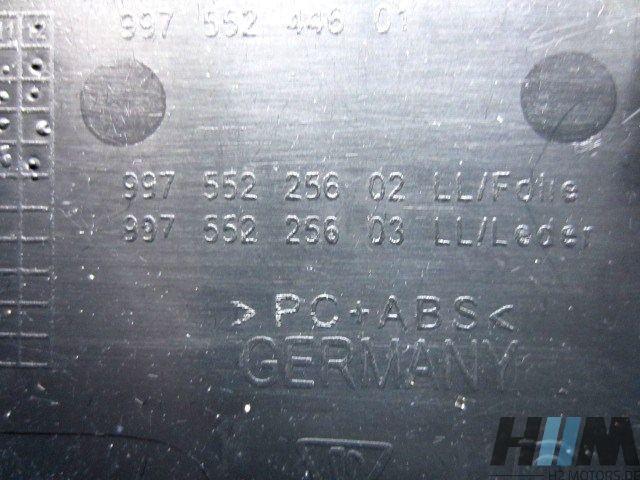 Porsche 987 911 997 Verkleidung Leder schwarz rechts 99755225603 997.552.256.03