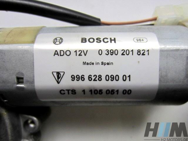 Porsche 911 997 Carrera Targa Wischermotor hinten 99662809001 996.628.090.01