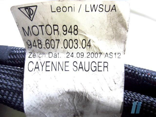 Porsche Cayenne V8 4,8 Kabelstrang Motorleitungssatz 94860700304 948.607.003.04