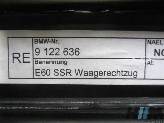 BMW E60 5er Sonnenschutzrollo Dreiecksfenster rechts 9122636