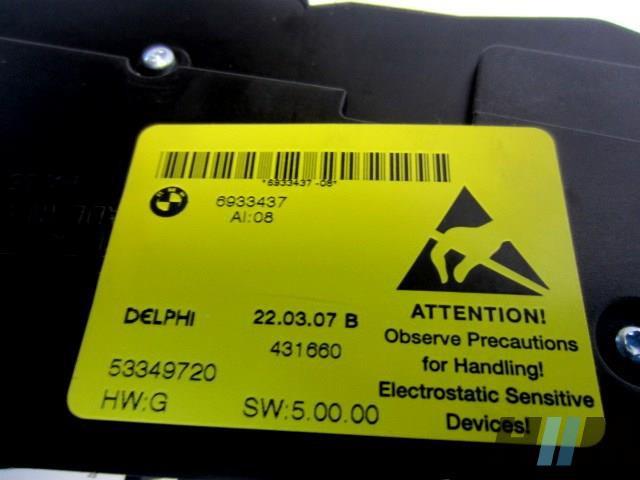 BMW E60 E61LCI 5er M5 Schalter Sitzverstellung vorne rechts 6933437