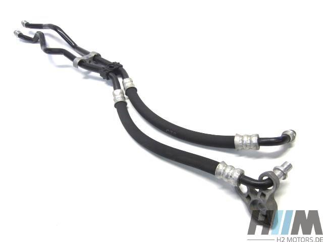 BMW E60 E61 5er 525d M57N2 Ölkühlerleitung Vorlauf Rücklauf 7799213 7799214