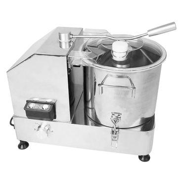 Kutter 9 Liter für Gastronomie Metzgerei aus Edelstahl mit Sichelmesser – Bild 1