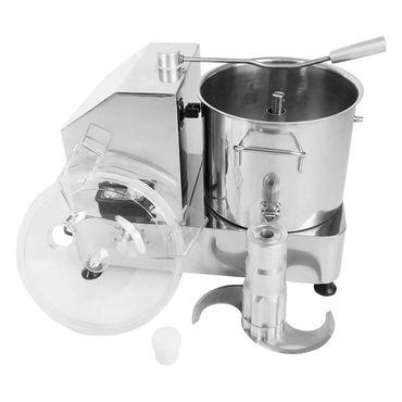 Kutter 9 Liter für Gastronomie Metzgerei aus Edelstahl mit Sichelmesser – Bild 2