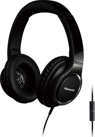 Panasonic HiFi-Monitor Kopfhörer Over-Ear RP-HD6ME-K sw