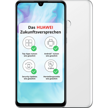 Huawei P30 lite weiß - Dual SIM – Bild 1